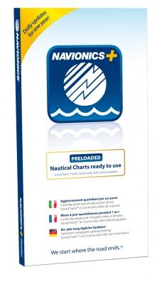 NAVIONICS+ SD/MSD, Preloaded 50XG Australien & Neuseeland