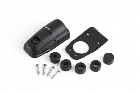 DS-H10-BLK, Kabeldurchführung Kunststoff, schwarz
